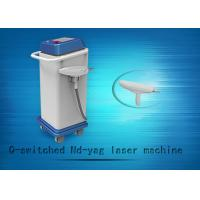 China 1064nm / 532nm Q-swiched ND YAG Laser Tattoo Removal Machine And Skin Whitening Equipment on sale