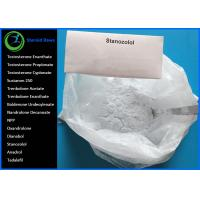China Oral Anabolic Steroids Raw White Crystalline Powder  CAS 10418-03-8 Winstrol Stanozolol for Bodybuilding Lean Muscle wholesale