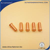 China Copper Plated Threaded Nelson Studs / Short Cycle Welding Stud OEM Acceptable wholesale
