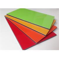China High Gross Lightweight PVDF Aluminium Sandwich Panel Multi Color Curtain Panels wholesale