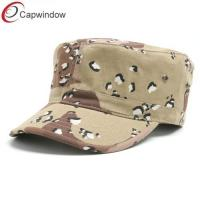 China Toddler Cotton Military Baseball Hats camouflage / Unconstructed wholesale