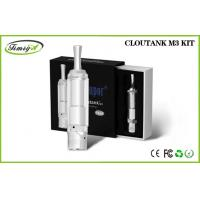 China 510 Thread Dry Herb Wax And Oil Vaporizer Clear 2.0ohm - 2.5ohm Cloutank M3 wholesale