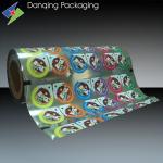 China Peelable PP / PE / PET Cup Sealing Film, Roll Stock,Lidding film wholesale