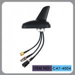 China Auto AM FM Gps External Antenna , Shark Fin Car Aerial RHCP Polarization wholesale