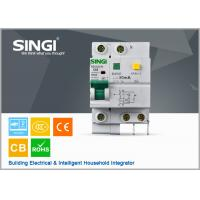 China Singi Residual - current mini electrical circuit breaker 1P  2P 3P 4P wholesale