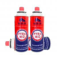 China 400ml 227g portable camping butane gas canister manufacturing wholesale