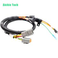 China custom automotive connecting harness trailer plug wiring loom wholesale