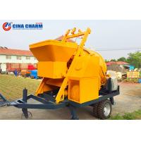 China Custom Concrete Pumping Machine , JBS30 Hydraulic Concrete Pump 30 Cube Meter Per Hour Capacity wholesale
