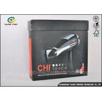 China Earphone Cardboard Packing Boxes Full Color Printed With Magnetic Folding Lid wholesale
