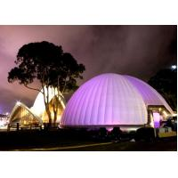 China 8m dia inflatable LED dome tent for advertising wholesale