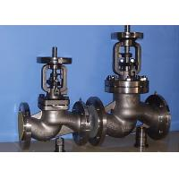 BB-BG-OS&Y Bellow Globe Valve Gear Pneumatic DIN3356 BW  Hasteloy Out Blowing Safe Stem