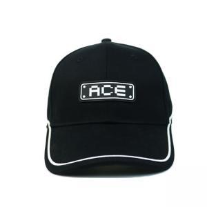 China 2020 New Men 6 panel hat Custom Logo PVC Rubber Patch Baseball Cap Hat wholesale