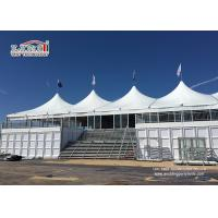China Two Floor Double Decker Marquee Tents Aluminum Frame For Event and Party wholesale