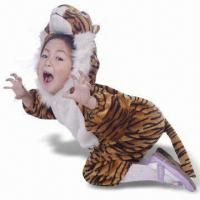 China Tiger Costume, Made of 100% Cheap Plush, Suitable for 4 to 12 Years Children's wholesale