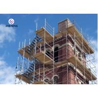 China High Pier Construction Scaffold Stair Tower Convenient Disassemble And Assemble on sale