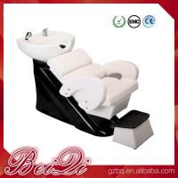 China Hair shampoo station wholesale salon furniture luxury massage shampoo chair wash unit wholesale