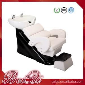 China Hair shampoo station wholesale salon furniture luxury massage shampoo chair wash unit wholesale