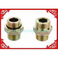 Wholesale BSP MALE DOUBLE USE FOR 60°SEAT OR BONDED SEAL/SAE O-RING BOSS L-SERIES ISO 11926-3 from china suppliers