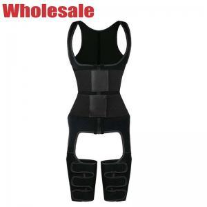 China Two Belts Full Body Waist Cincher Sauna Women'S Neoprene Sauna Vest wholesale