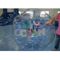 China Crazy Inflatable Human Ball / Durable Inflatable Hamster Ball For Humans wholesale
