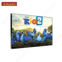 China 3x2 Video Wall 55inch 3.5mm LG LCD Video Display Advertising Commercial Video Wall on sale
