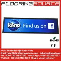 China Bar Runner and Bar Mat with rubber backing and knitted polyester top for beer bar and counter wholesale