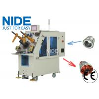 Buy cheap High efficiency Air Conditioner Motor Stator Winding Inserting Machine from wholesalers