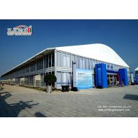 China 40m Width Dome Shape Aluminum and PVC Frame Tent with 8m Side Height for Outdoor Exhibition and Events wholesale