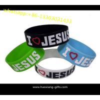 Quality customized any color silicone wristbands/bracelet with your logo for sale