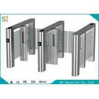 China Fingerprint High Speed Swing Barrier Gate Club Hotel Management Passages wholesale