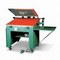 China Vacuum Type Manual Screen Printing Machine with Foot Switch, Ideal for Small Format Printing wholesale