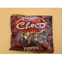 China Strong Cube Shaped Chewy Milk Candy / Candies Choco Flavors Fast Shipment wholesale