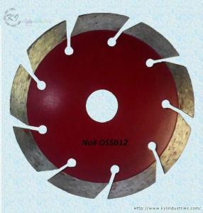 China Segmented Diamond Saw Blade for Granite and Concrete - DSSB12 wholesale