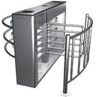 China Two-way Direction Automatic Rotation Full Height Turnstile with LED Display for Apartment wholesale