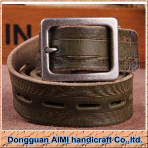 China AIMI Fashion mens leather belts for men belt, wholesale men