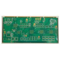 China 4/3.5mil 1.6m Immersion Gold FR4 8 Layer Rigid Custom PCB Board For Industrial Control wholesale