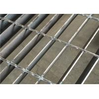 China Mild Steel 19 W 4 Steel Grating , Strong I Kg Black Metal Open Mesh Grating wholesale