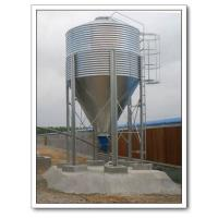 China Galvanized Feed Silo for Poultry Feeding Equipment wholesale