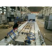 China Super Pvc Profile Extrusion Line , Pvc Profile Extrusion Machine For Folding Door Making on sale