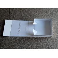 China White Cardboard Folding Gift Boxes , Gorgeous Creative Gift Box 212g Weight wholesale