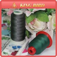 China Green / Black Dyed Pattern 2mm 100% Nylon Thread for Sewing Leather wholesale