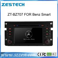 China ZESTECH 7inch double din car dvd for Benz Smart with ARM11+DSP 800Mhz on sale