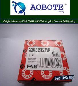 China  Original Germany FAG 7004B 2RS TVP Angular Contact Ball Bearing  wholesale