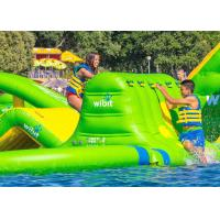 China Giant Outdoor Inflatable Water Park Airtight Sealed Fireproof Material CE UL SGS on sale