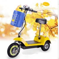 China 3 wheel electric folding scooter wholesale