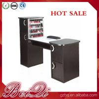 China Nail salon equipment supplies wholesale manicure table vacuum and nail salon furniture wholesale