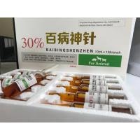 China High Fever Vet Antibiotic Injection  Double Block Bacterial Biological Metabolism on sale
