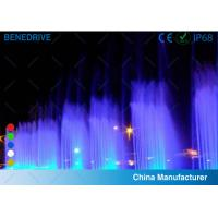 China Various Single Color And RGB Color Fountain LED Light Stainless Steel Material 2 Years Warranty wholesale