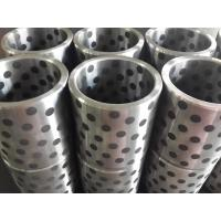 China Steel(FC250&HT250&45#) bushing with solid lubricant graphite FGB standard misumi bushing wholesale