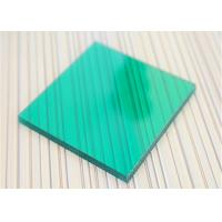 China Unbreakable Polycarbonate Panel Green Color For Underground Garage Exit wholesale